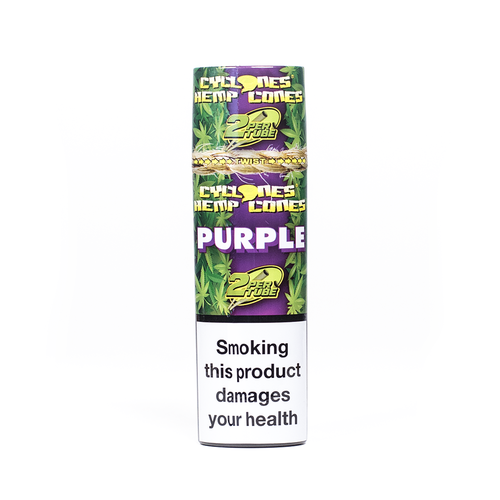 Cyclones Hemp - Purple 2x