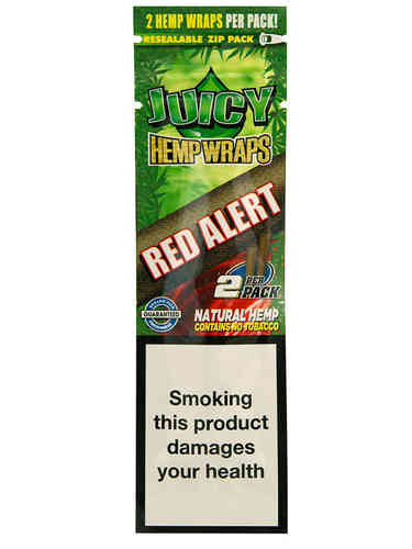 Juicy Hemp Wrap - RED ALERT