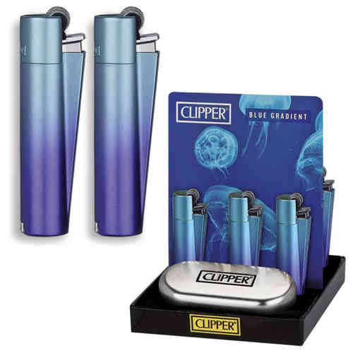Clipper Metal Blue Gradient