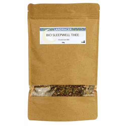 Landracer Bio Sleepwell Tea Cbd Infused 100Gr