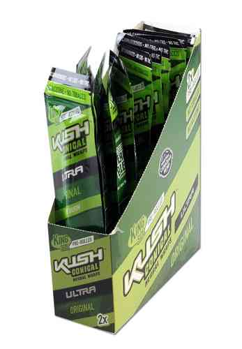 Kush Conical Herbal Wraps Ultra 'Original'