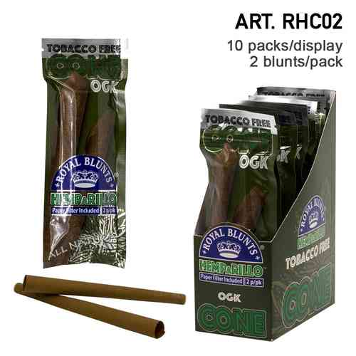Royal Blunts | Hemparillo OGK Cones with tips