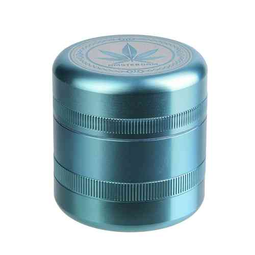 Grace Glass | Grinder - American Style Green - Ø:55mm - 5  parts - With 2 different plates