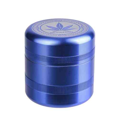 Grace Glass | Grinder - American Style Blue - Ø:55mm - 5  parts - With 2 different plates